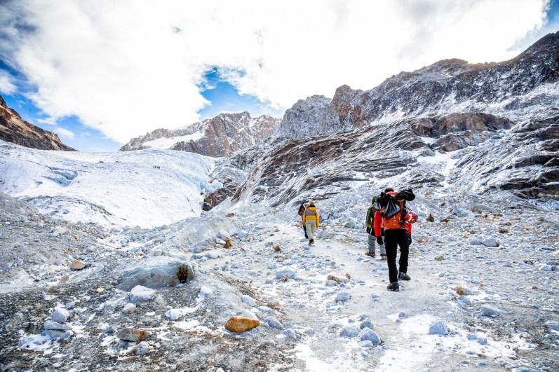 Huayna Potosi Mountain Bolivia -11- July 2015