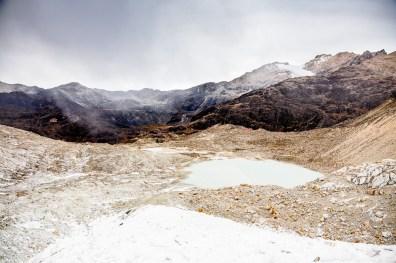 Huayna Potosi Mountain Bolivia -18- July 2015