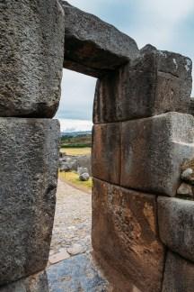 Saksaywaman Cusco Peru -22- July 2015