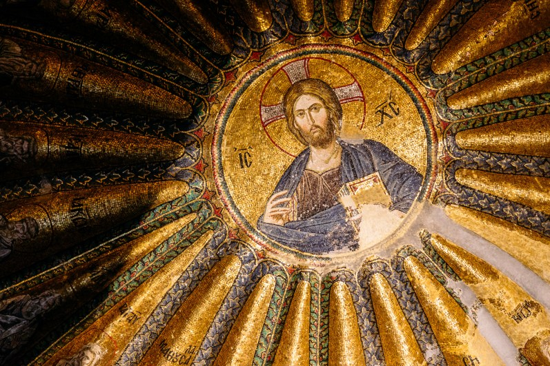 The Frescos and Mosaics of Chora Church Museum in Istanbul, Turkey