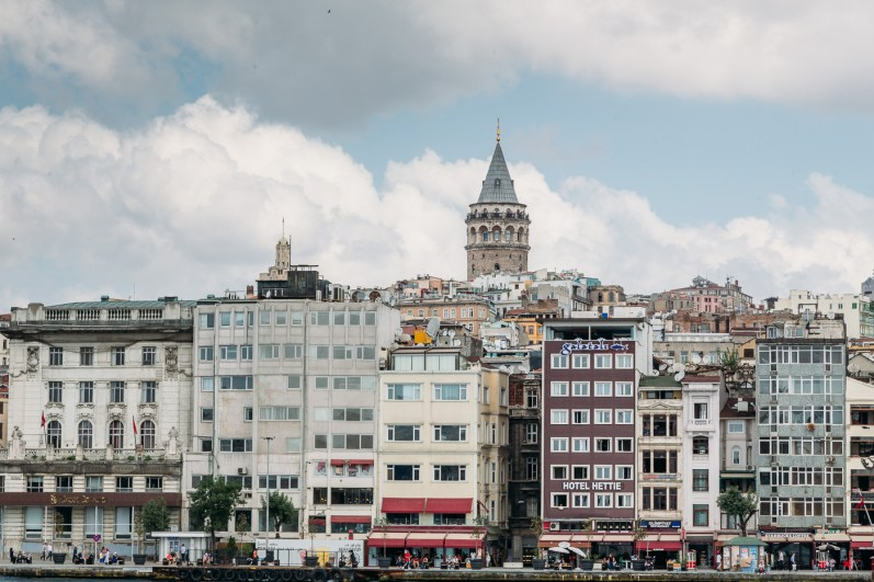 Karakoy and Galata Tower