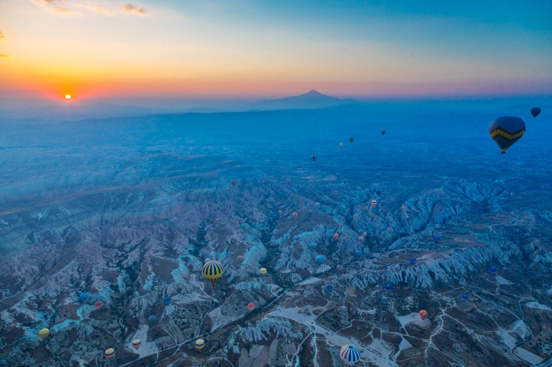 Cappadocia Hot Air Ballooning Photos -25