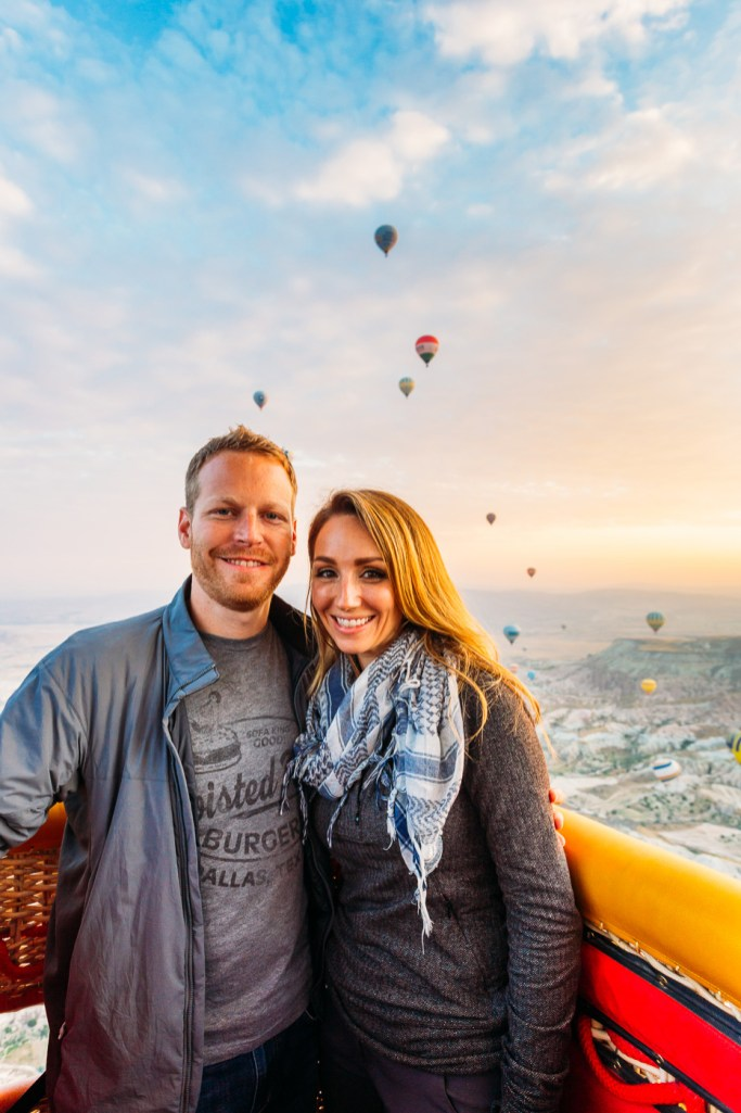 Our hot air balloon flight
