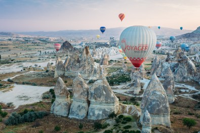 Our epic hot air balloon flight over Cappdocia, Turkey