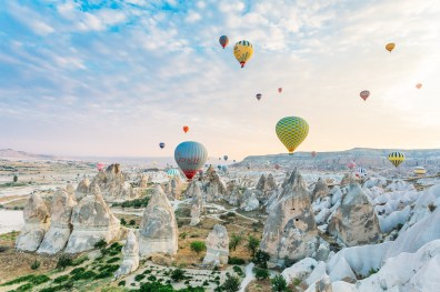 Cappadocia Hot Air Ballooning Photos -49