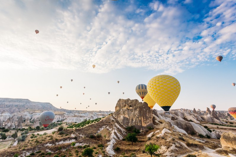 The best way to see Cappadocia - by hot air balloon flight