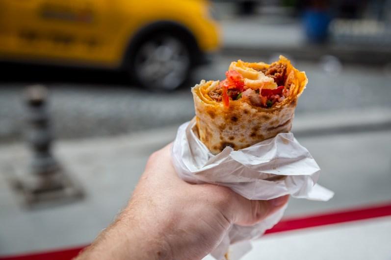 Double Adana Kebabs from Durum Zade in Istanbul