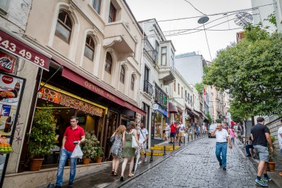Galata Tower neighborhood