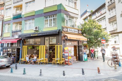 Exploring the Karaköy on the Asian side of Istanbul