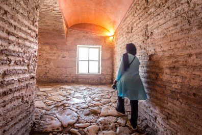 Deep inside the corridors of Hagia Sophia