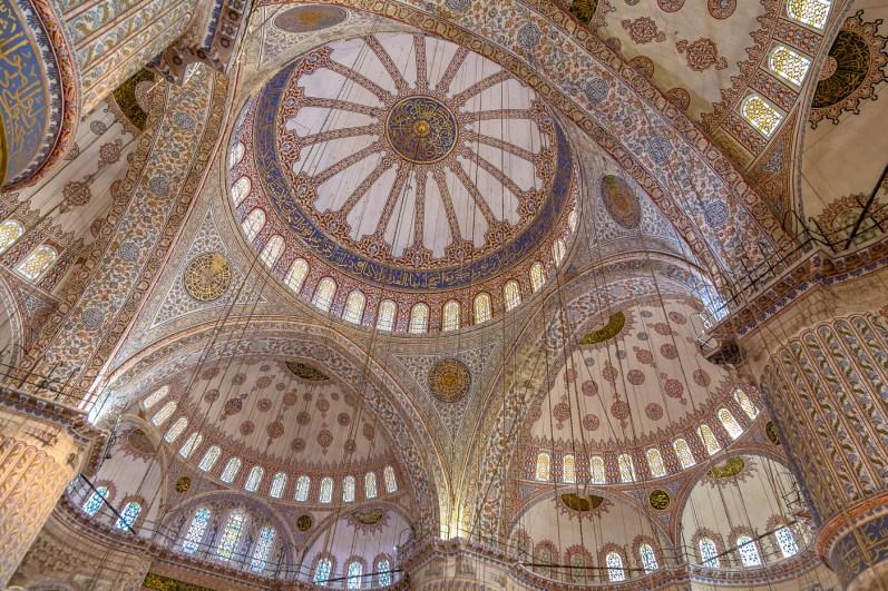 Blue Mosque (Sultan Ahmet Camisi) Istanbul Turkey