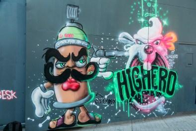 Graffiti on Istiklal Street