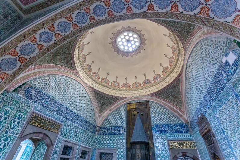 Inside the royal chambers of Topkapi Palace