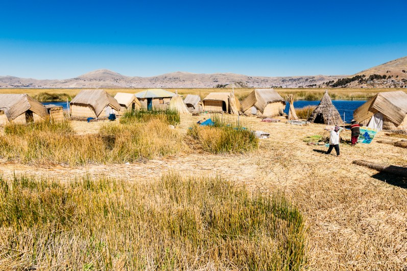 Uros Floating Reed Islands - Peru -15- July 2015