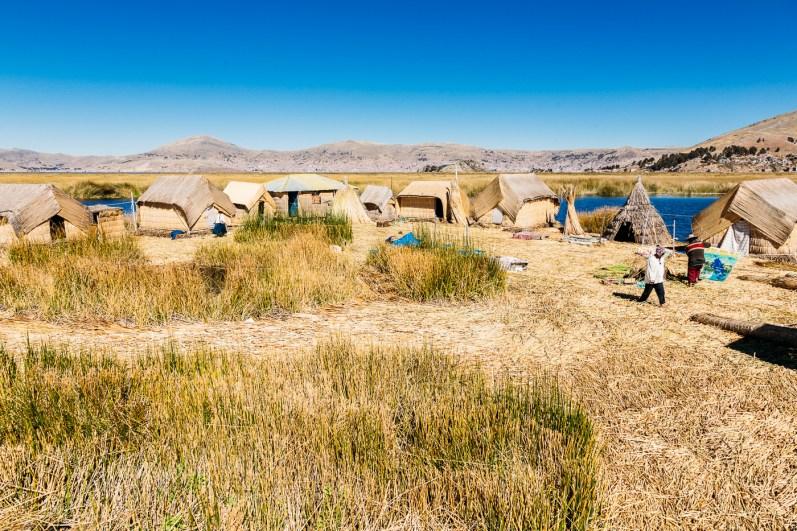 Uros Floating Reed Islands - Peru -15- July 2015