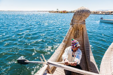 Uros Floating Reed Islands - Peru -39- July 2015