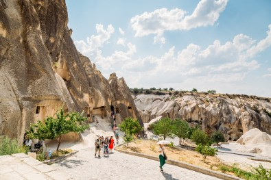 Dodging the crowds at Goreme Open Air Museum