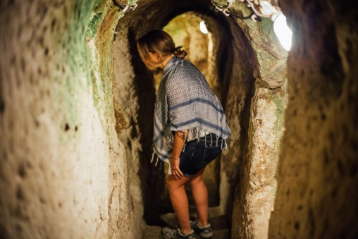 Cappadocia's most narrow underground city Derinkuyu