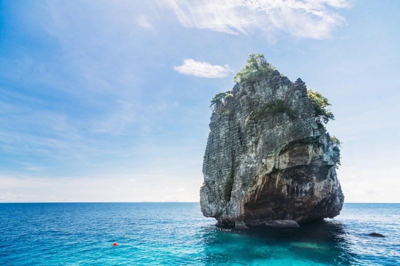 The gorgeous karsts of Koh Haa - Koh Lanta Diving -152