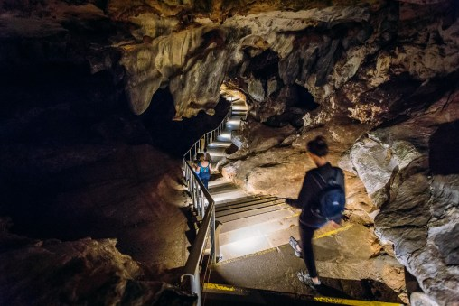 Starting the Cango Caves Adventure Tour