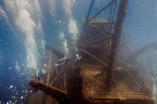 Diving Koh Kood - HTMS Chang Shipwreck -63