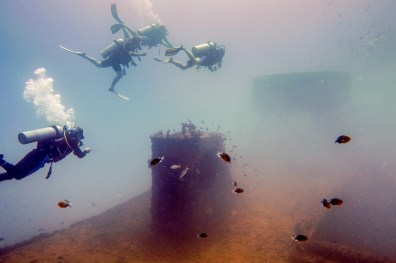 Diving Koh Kood - HTMS Chang Shipwreck