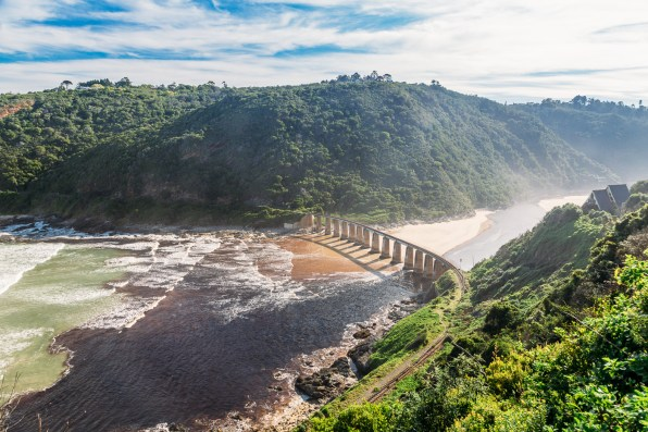 Wilderness, South Africa viewpoint on the Garden Route self drive