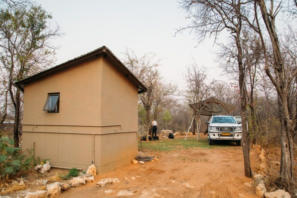 Tamboti Luxury Campsite at Onguma Game Reserve