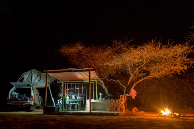 How to book campsites in Namibia self drive safari
