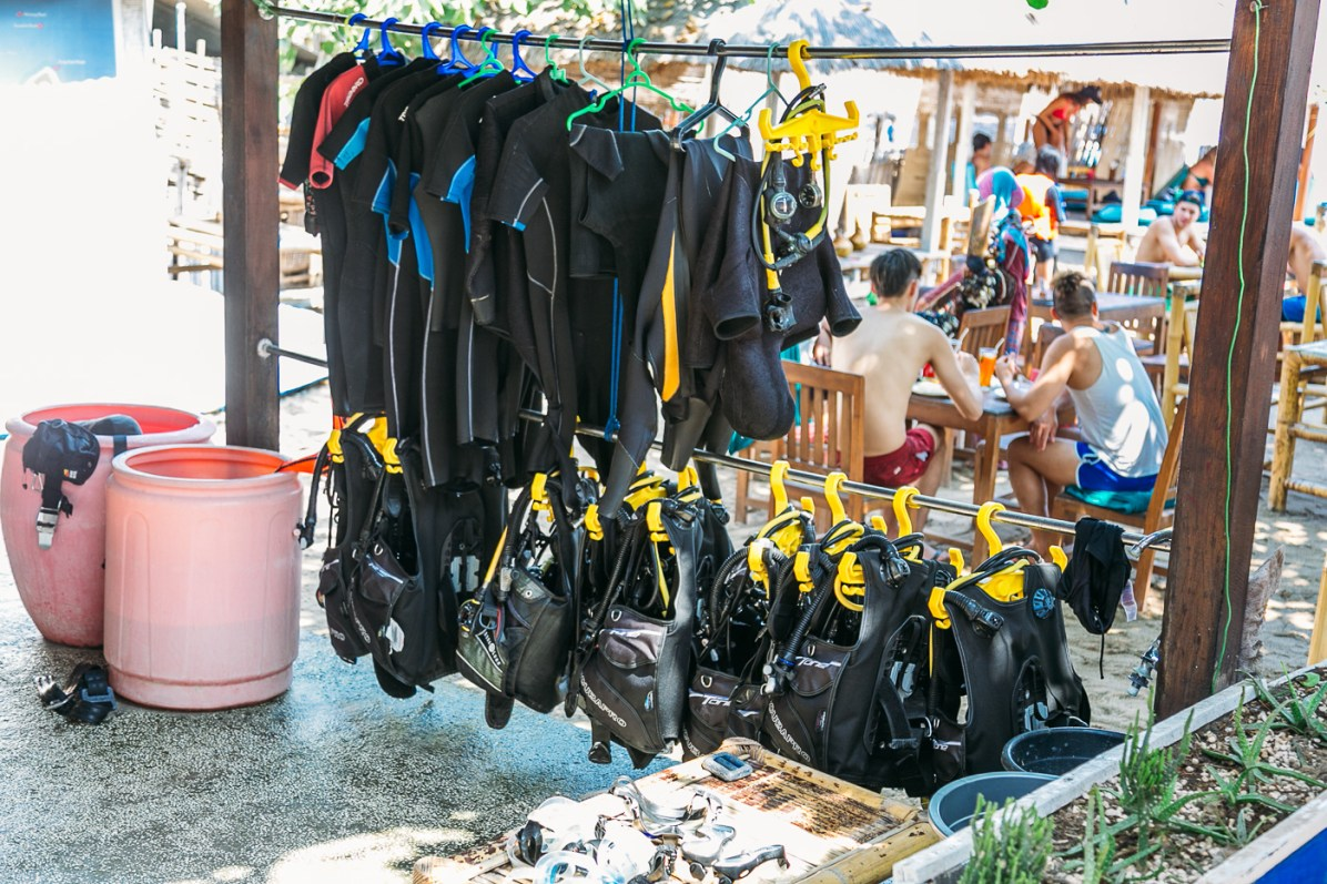 The many options when it comes to dive companies on Gili Air