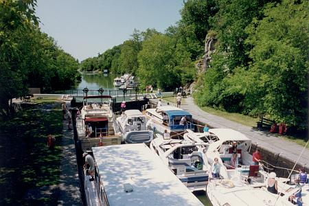 Image result for Beveridge locks, rideau canal