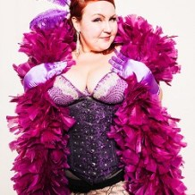 Join our new friend, Lillian Bustle at JC Burlesque