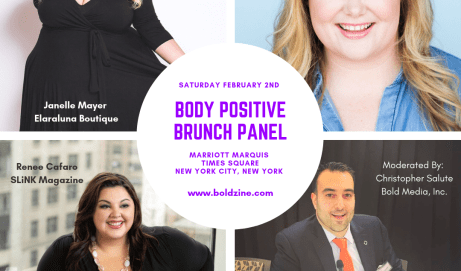 For Immediate Release: Bold Media Announces Plus Size Women's Weekend and Panel