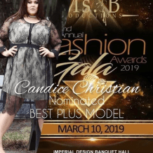 Candice Christian Nominated for Best Plus Model in Orlando