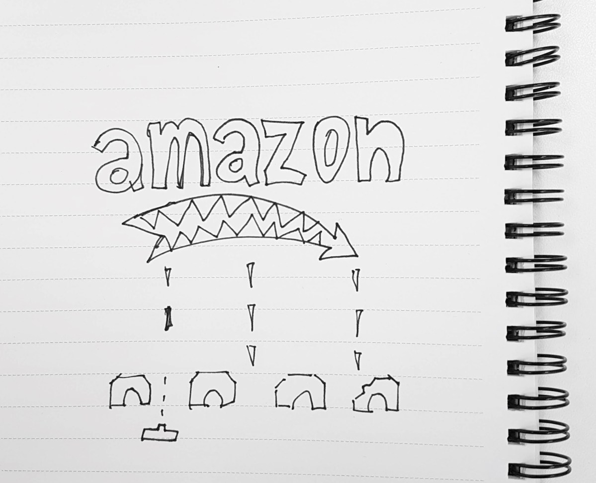 Amazon is not bad; it's just drawn that way