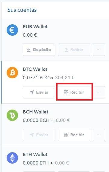 Billetera Coinbase Recibir Bitcoins