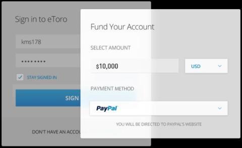 como fondear cuenta eToro con PayPal para comprar bitcoins