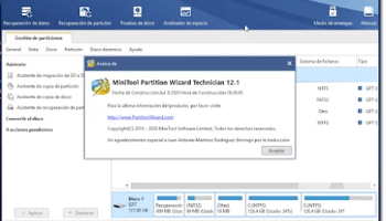 Licencia minitool partition wizard 12 full download