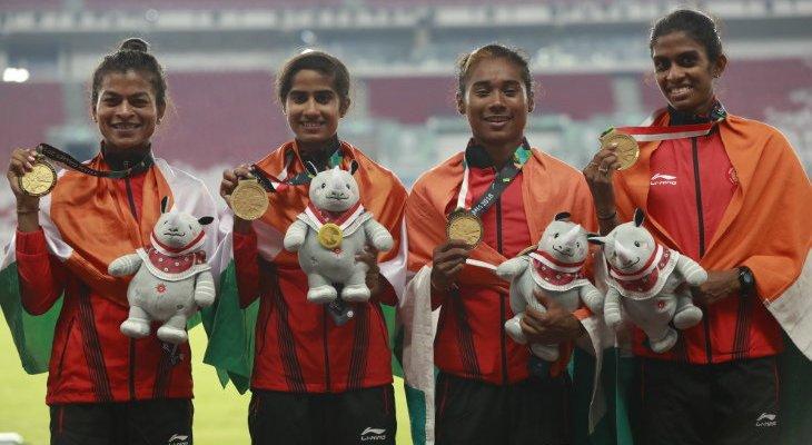 पुरुष 4x400 मीटर में भारत को रजत, चित्रा उन्नीकृष्णन ने महिला 1,500 मीटर और डिस्कस थ्रो में सीमा पुनिया ने कांस्य जीता