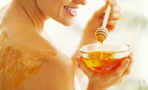 miele idratante per la pelle