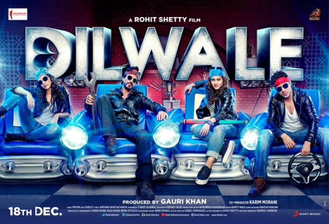 Dilwale Lifetime Box Office Collection