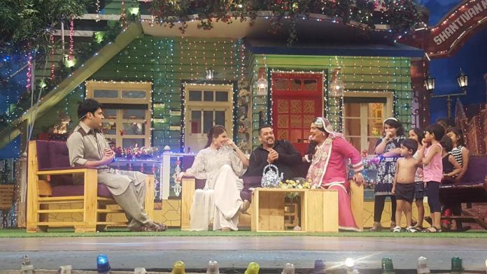 Sultan promotions on Kapil Sharma Show, Comedy Nights Live and IGT