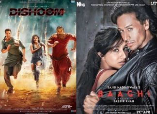 Dishoom Vs Baaghi Box Office Collection Comparison