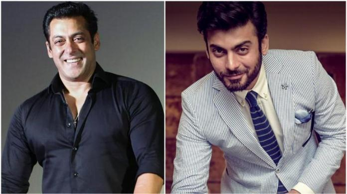 Fawad Khan and Salman KhanFawad Khan and Salman Khan