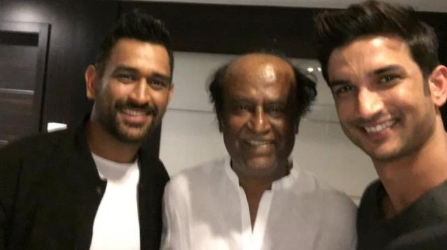 MS Dhoni and Rajinikanth