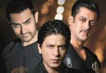 SRK Salman and Aamir