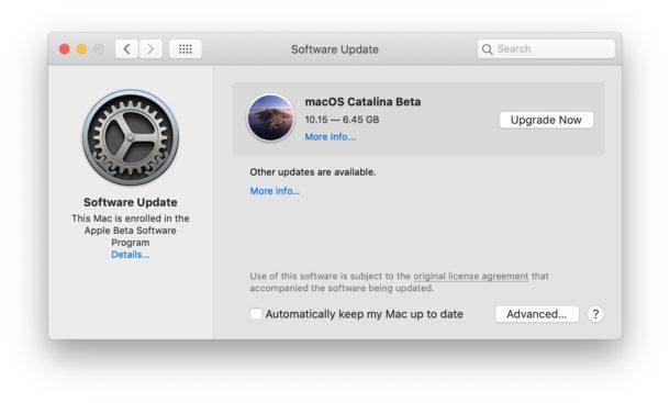 Download the public beta of macOS Catalina