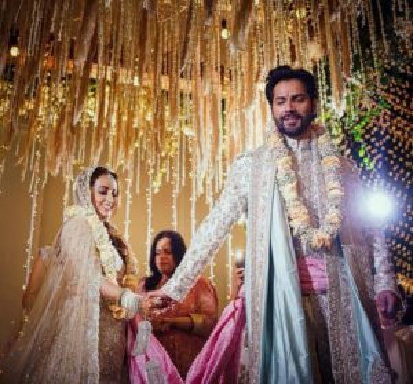 Varun Dhawan natasha Dalal wedding Pictures