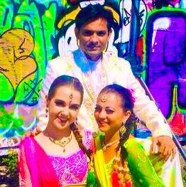 Indische Tänzer