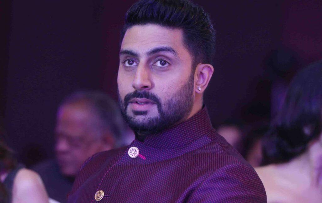Bollywood acteur Abhishek Bachchan heeft een drukke agenda